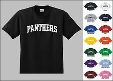 Panthers Football Youth T-shirt