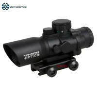Vector Optics Talos Tactical 4x32 Compact 4x Prismatic Chevron Range Riflescope