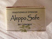Aleppo Olivenölseife mit Tonerde Bio 100% Naturseife 100g/stck  100g= 5,00€)