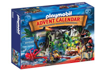 Playmobil 70322 Advent Calendar Pirate Cove Treasure Hunt NEW Same Day shipping!