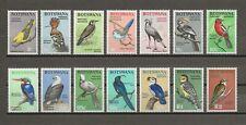 More details for botswana 1967 sg 220/33 mnh cat £40