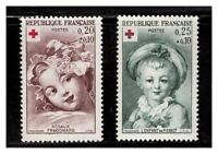 S23381) France MNH 1962 Red Cross 2v