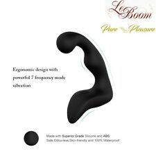 7 Speed Prostate Massager Anal Vibrator, Silicone USB Rechargeable Male Sex Toy