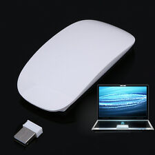 2.4Ghz Wireless Slim Clever Laser Optical Magic Mouse With USB Receiver for PC