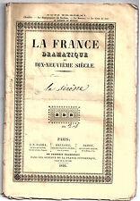 Pièce Théâtre. La Sirène. Opéra-comique de Scribe et Auber. 1844.