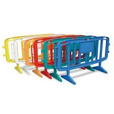 Transenna stradale plastica polipropilene mercati eventi L 1200/2000 H 102