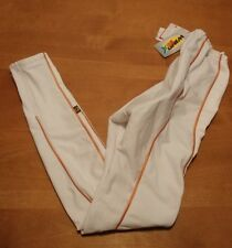 Biemme Cycling Pants Womens Size Large White Padded Pro-Y  Italy Wind Tex