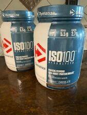 Dymatize ISO 100 Hydrolyzed Whey Protein Isolate Gourmet Chocolate - 1.6 lbs