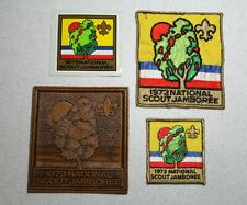 1973 National Scout Jamboree Patch Set