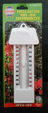 MULTI PURPOSE GREENHOUSE INDOOR/OUTDOOR THERMOMETER UK Seller