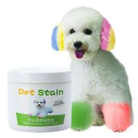 Ee _ Inofensivo Semi-Permanente Piel Colorear Higiene Mascota Perro Cat Tinte