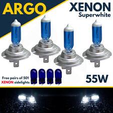 4 X H7 55w Super Blanco Xenon Faro de actualización Bombillas Set 499 12v Completo/sumergido
