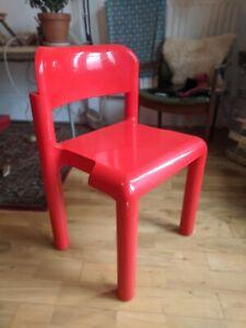 AARNIO UPO DESIGNER RED MODERNIST CHAIR