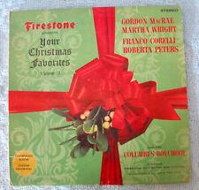 FIRESTONE presents YOUR CHRISTMAS FAVORITES Volume 3 (1964) COPERTINA COVER