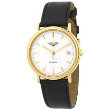 Longines Presence Automatic White Dial Ladies Watch L48212122