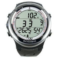 Oceanic Atom 3.1 Dive Computer w Transmitter and USB Cable Titanium/White