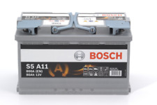 S5A11 BOSCH AGM CAR BATTERY 12V 80AH Type 115 OE QUALITY 5 YEAR WARRANTY