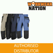 Snickers Patternless Workwear Trousers for Men