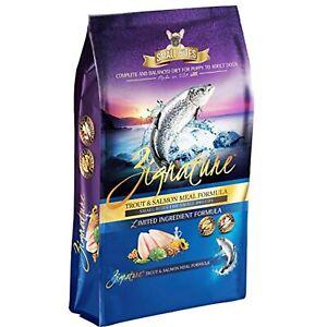 Zignature Trout & Salmon Formula Grain-Free Small Bites Dry Dog Food 12.5lb