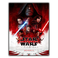 STAR WARS THE LAST JEDI Movie METAL SIGN WALL PLAQUE Film Advert Poster Print