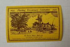 1945 Flushing Tercentenary CelebrationThe Bowne House Philatelic Souvenir Ad
