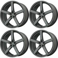 4x American Racing 19x10 AR920 Blockhead Wheels Charcoal 5x4.5 5x114.3 +45mm