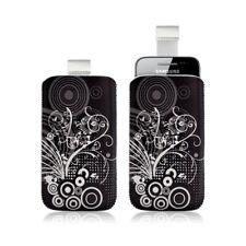 Housse coque étui pochette pour Samsung Galaxy Gio S5660 avec motif