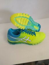 Asics Woman's Gel Quantum 180 2 Safety Yellow Size 10 US