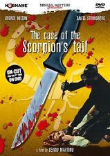 The Case of the Scorpion's Tail- DVD Sergio Martino Giallo (No Shame) RARE OOP
