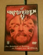 Wwf Wwe Unforgiven Dvd Signed By Stone Cold Steve Austin Ships Free 24 hrs