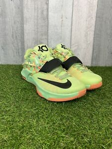 Nike KD VII Easter 2015 Basketball Trainers Multi Bright Green Size UK 9 US 10