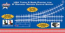 USA Trains r81620 8´ Right Remote Switch w/Illuminated Lantern & Controller