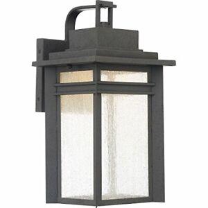 Quoizel BEC8409SBK Beacon Outdoor Lantern in SBK - Stone Black