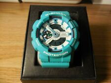Casio G-Shock GA-110SN 5146 AQUA BLUE Quartz Analog Digital Men's Watch