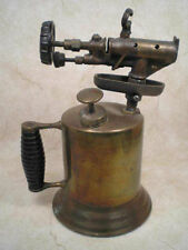 RARE ANTIQUE / VINTAGE  DOUBLE-JET BLOWTORCH / BLOW TORCH :