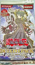 YU-GI-OH! Duelist Pack Chazz Princeton 1st. edition 1 Booster Pack English
