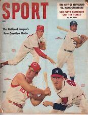 Sport Magazine - May 1957 Campanella Spahn Klu Cover - Bing Crosby Golf Article