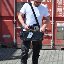Profi Fototasche CAMBAG Kameratasche CAM BRIDGE D-SLR Keanu Tasche XL Schwarz