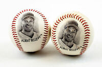 1996 Cleveland Indians Albert Belle - Burger King Fotoball Baseball | Lot of 2