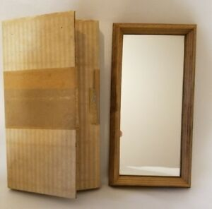 Vtg Antique Rumbleseat Press Dollhouse Mirror 9 x 4-1/2 inches West Germany