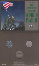 1943 Monedas Conmemorativa patriótico de la segunda guerra mundial acero centavos de plata mercurio centavo de níquel