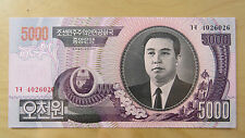 Bill Banknote Mint Korea 5000 Pick 46a 4026026 95 (2006)