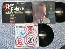 RED FOLEY 3 LP Lot *Golden Favorites *Country Jubilee *Songs For The Soul*