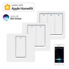 Apple Homekit Smart Lichtschalter Touch Wandschalter Siri Voice App Steuerung