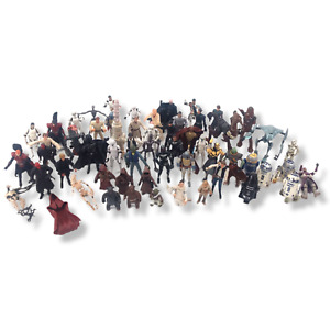 Lot of More Than 50 Star Wars Various Loose Figure Lot Some Vintage 1998-2013