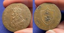 GREAT BRITAIN 1792 CONDER TOKEN LANCASTER LANCASHIRE GOLD SILVER SMITHS D&H 29