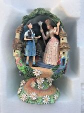 Wizard of Oz Franklin Mint collectible egg Welcome to Munchkinland 1998