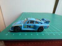 Corgi Juniors J85 Racing Porsche 935 Light Blue Goodyear Lucas 74 Diecast Car