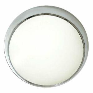 Eterna CF16CR Circular Bulkhead Light Fitting 2D - 16 Watt (Polished Chrome)