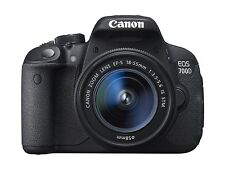Canon EOS 700D 18MP Digital SLR Camera - Black Kit with 18-55mm STM Lens